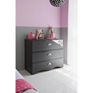 Tatoo 3 Drawer Dresser by Parisot