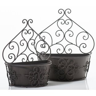 Metal Vertical Wall Planters You Ll Love Wayfair Co Uk