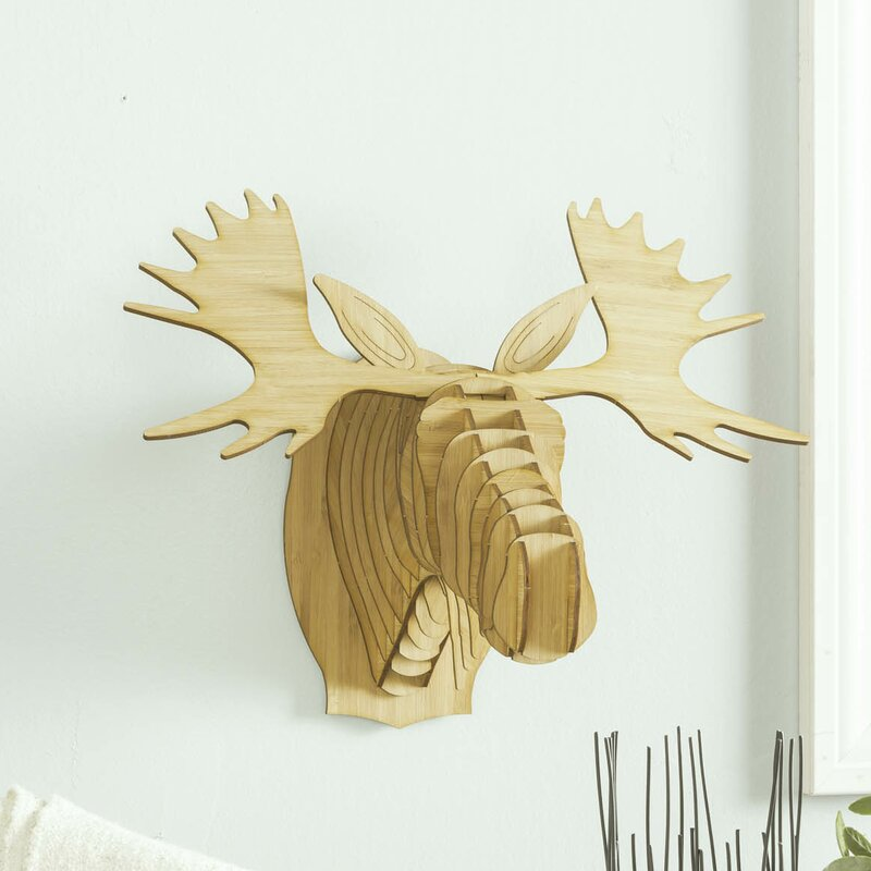 Modern Bull Head Wall Decor Ornament - Art & Wall Decor - hecatalog.info