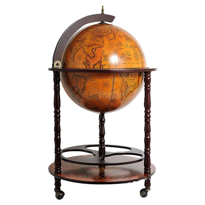 Globe Drinks Cabinet Floor Standard - World Menagerie Globe Drinks Cabinet Floor Standard & Reviews Wayfair