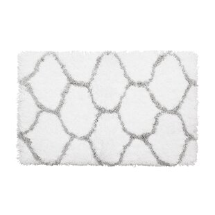 Find Alfred Chunky Shag Gray/White Area Rug By Vista Living