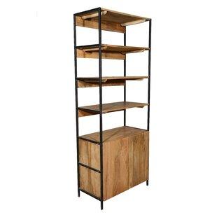 Open Plus Closed Storage Unit Standard Bookcase
