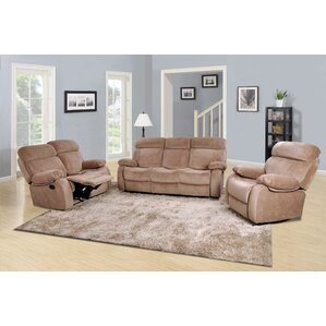 Topeka 3 Piece Living Room Set by Red Barrel Studio