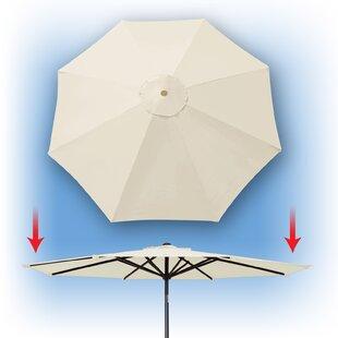 42e5aa1c6417 Replacement Umbrella Canopy | Wayfair