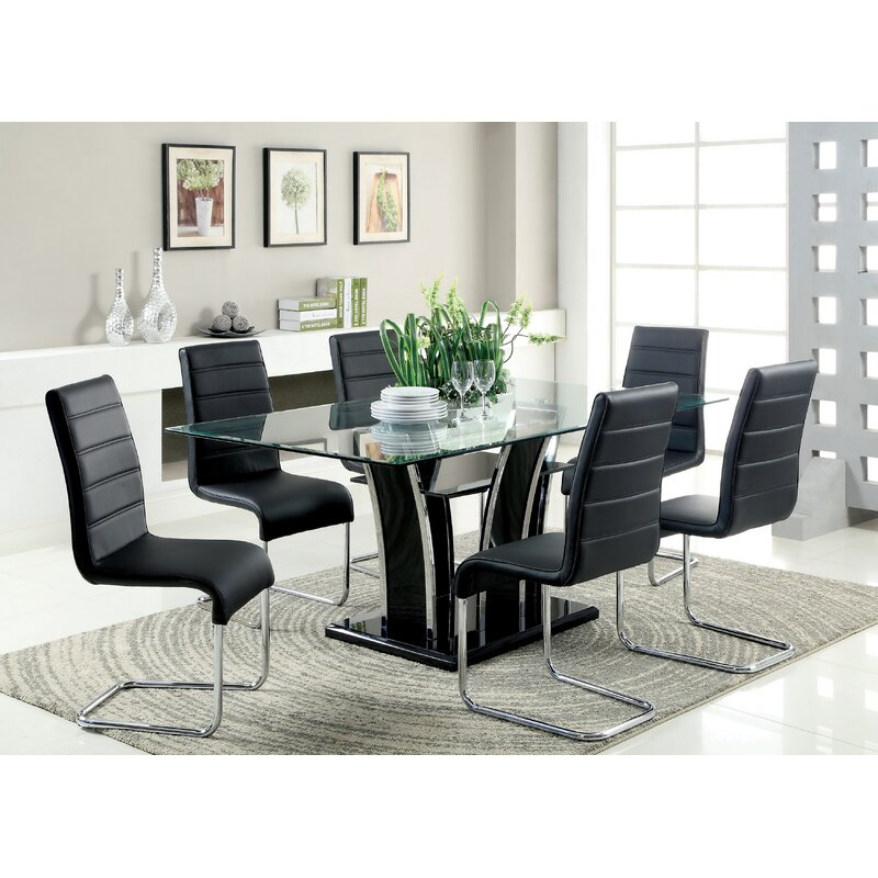 Peralez dining table reviews allmodern