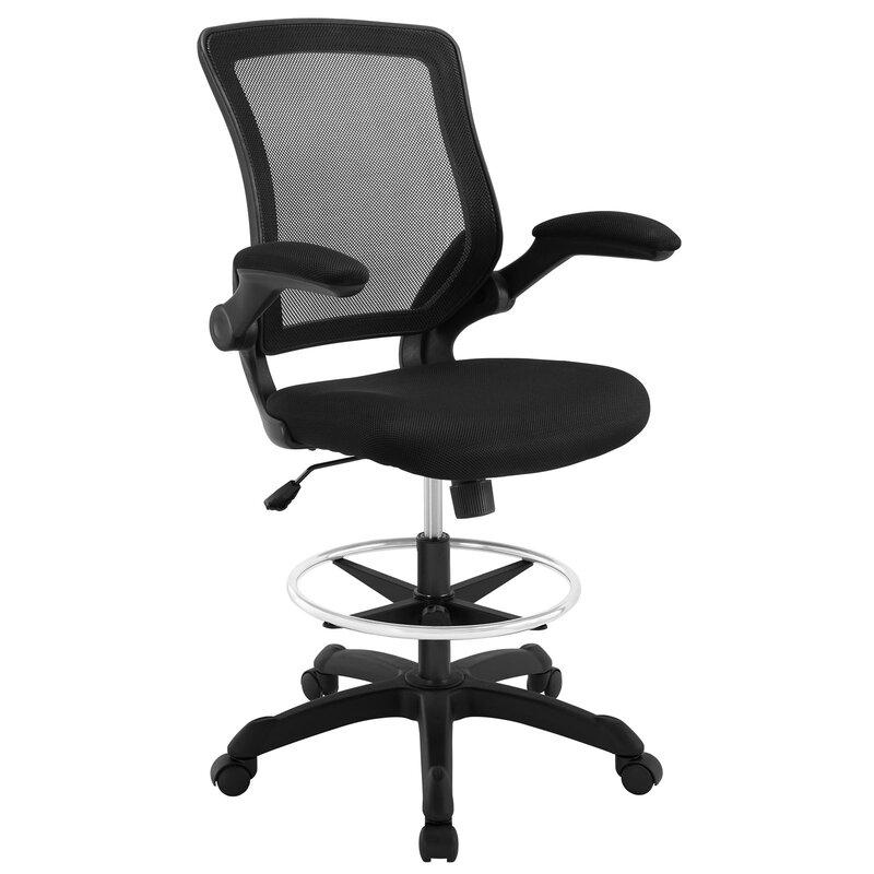Gail High Back Mesh Drafting Chair