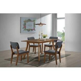 Aberdeen 5 Piece Solid Wood Dining Set