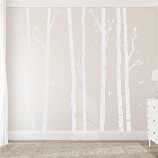 Wall Decal Birch Tree | Wayfair