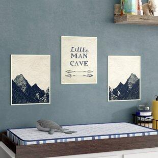 Campion Man Cave Arrowountains Decorative Plaque Set Of 3