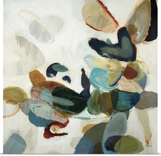 'Stone Pattern I' by Randy Hibberd Painting Print