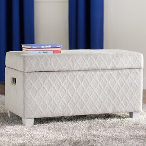 Lilly Fabric Storage Bench