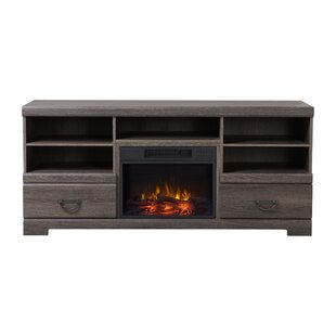 Dooling Media Tv Stand For Tvs Up To 65 With Fireplace