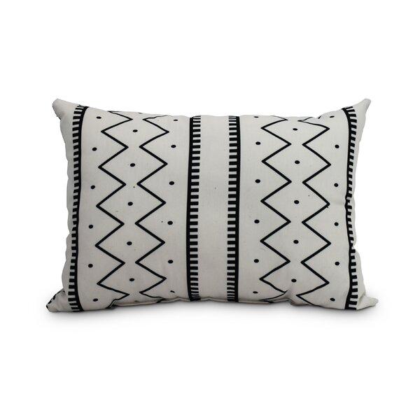 Union Rustic Odaniel Mudcloth Abstract Decorative IndoorOutdoor Gorgeous Decorative Outdoor Lumbar Pillows