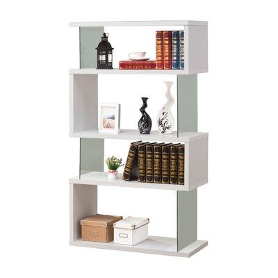 Brayden Studio Ignacio Standard Bookcase Finish: White