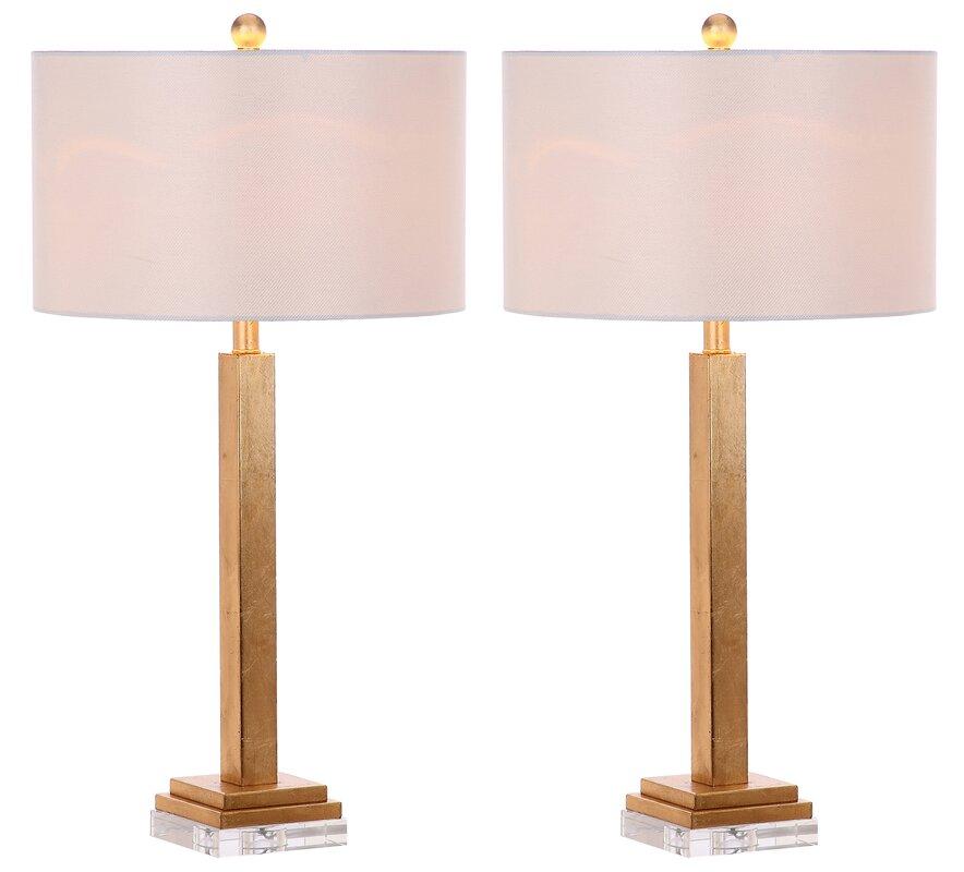 mathews crystal base 30 table lamp reviews joss main. Black Bedroom Furniture Sets. Home Design Ideas
