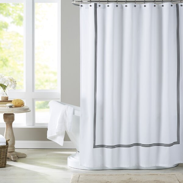 Toile Shower Curtain Green - Best Curtain 2017