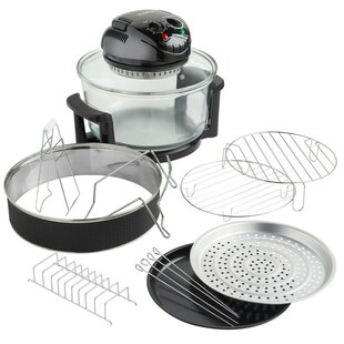 Premium 12 L Halogen Air Fryer Oven by VonShef