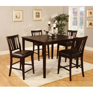Hertford 5 Piece Counter Height Dining Set