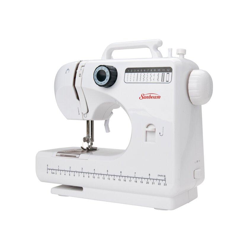 Sunbeam Large Compact Sewing Machine Reviews Wayfair Stunning Smallest Sewing Machine