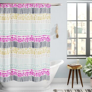 a3cb4102b5 Tribal Print Shower Curtain | Wayfair