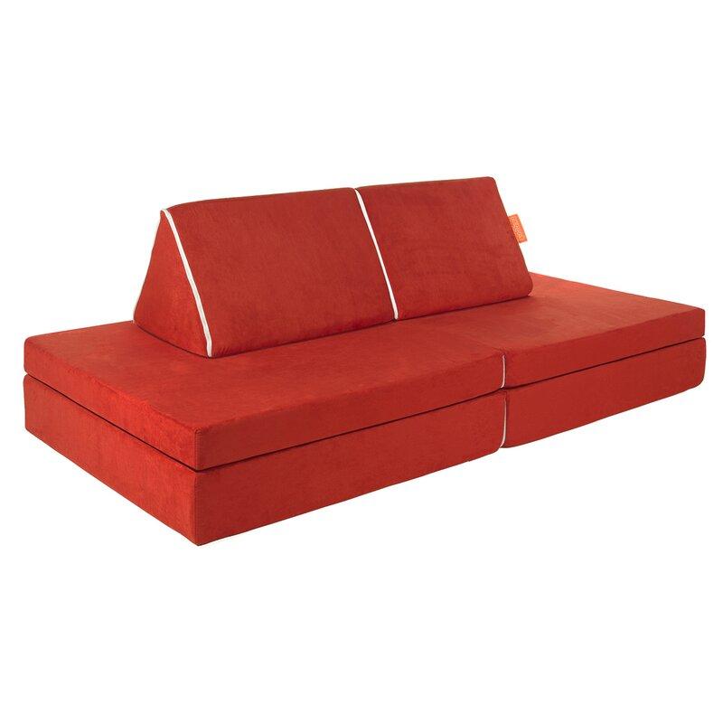 Nugget 4 Piece Kids Sofa Set U0026 Reviews | Wayfair