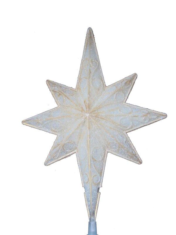 Sienna lighted christmas star of bethlehem tree topper with lighted christmas star of bethlehem tree topper with scrolling clear lights aloadofball Images