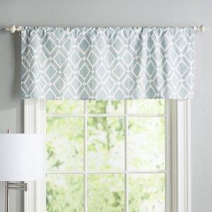 Lippert Print Light-Filtering Curtain Valance