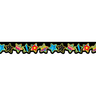 Poppin Patterns Stars Classroom Border