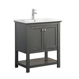 bathroom vanity with single sink. Cambria Manchester 30  Single Bathroom Vanity Set Vanities Joss Main