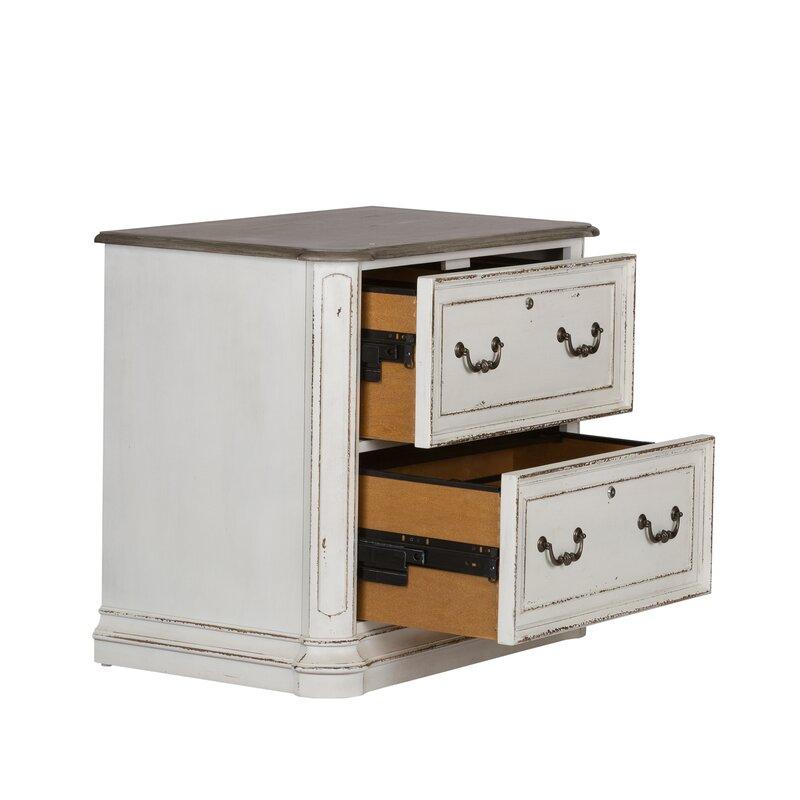 Salinas 2 Drawer Lateral Filing Cabinet