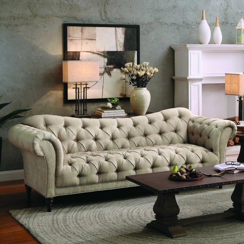 Willa arlo interiors burna sofa reviews wayfair - Willa arlo interiors keeley bar cart ...