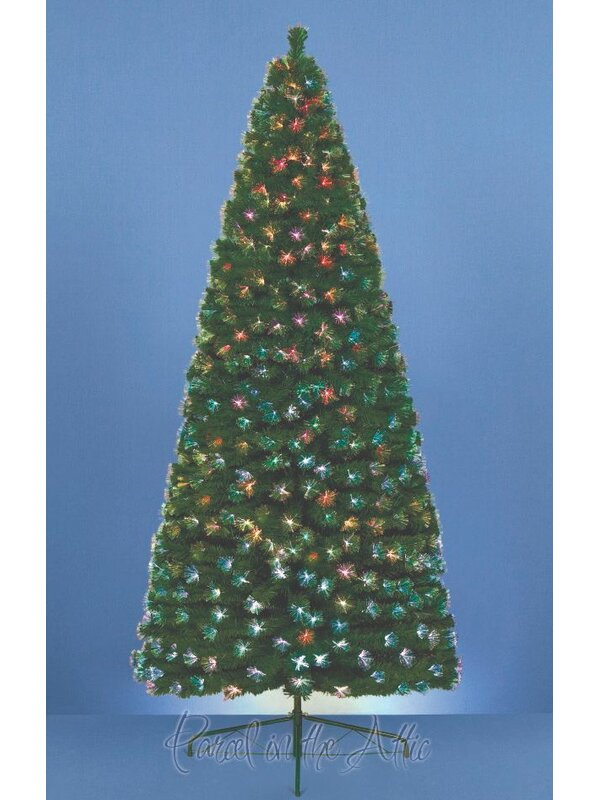Parcel in the Attic 4ft Artificial Christmas Tree with 125 Fibre Optic Tips | Wayfair.co.uk