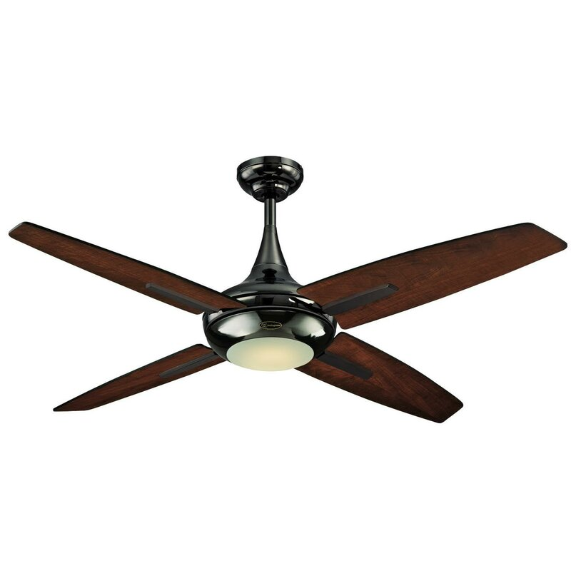 52 Bocca Energy Efficient Led Reversible Plywood 4 Blade Ceiling Fan