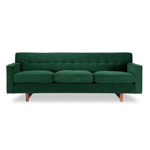 Delightful Kennedy Mid Century Modern Classic Sofa
