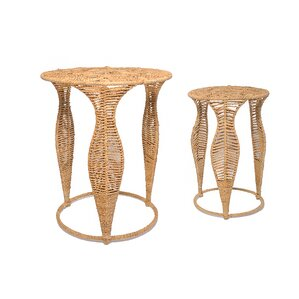 Holly 2 Piece Nesting Tables by Jo-Liza International Corp.