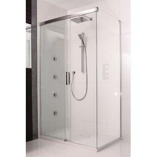 Etty 200 x 140cm Sliding Shower Door by Belfry Bathroom