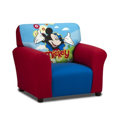 disney mickey mouse clubhouse kids cotton club chair - Fauteuil Mickey