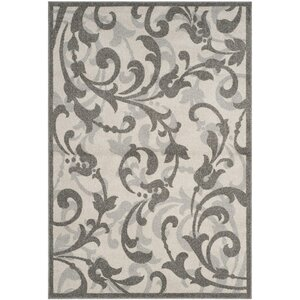 Neil Ivory/Gray Indoor/Outdoor Area Rug