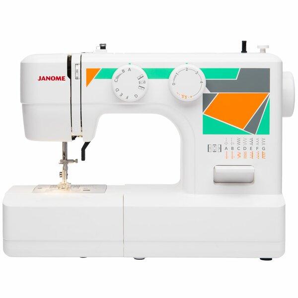 Janome Janome MOD40 EasytoUse Basic Sewing Machine Wayfair Unique Basic Sewing Machine
