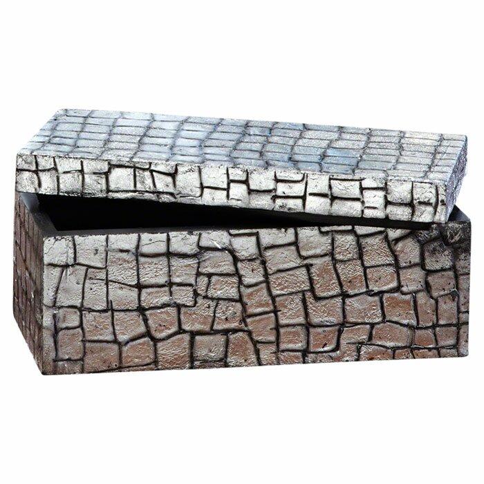Global Views Box: Global Views Mock Croc Storage Box & Reviews