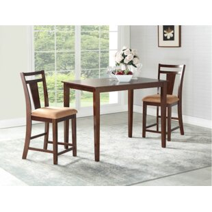Flossmoor 3 Piece Pub Table Set