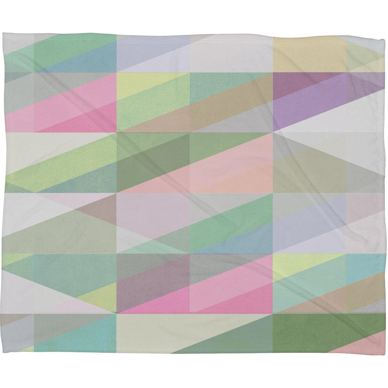 new concept 344a1 c1e26 East Urban Home Nordic Combination 8 XY Fleece Throw Blanket   Wayfair