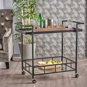 Antunez Indoor Bar Cart by Ivy Bronx