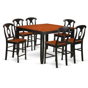 Pub tables bistro sets birch lane tamarack 7 piece counter height pub table set watchthetrailerfo