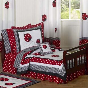 Little Ladybug 5 Piece Toddler Bedding Set