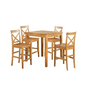 Youngstown 5 Piece Counter Height Dining Set by TTP Furnish