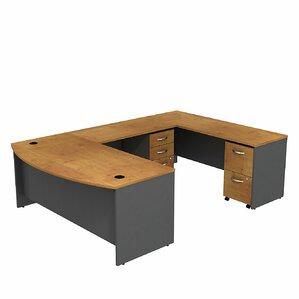 Series C Bow Front U Shape Executive Desk