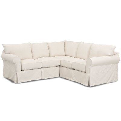 Slipcovered Sectional Sofas Youll Love Wayfairca