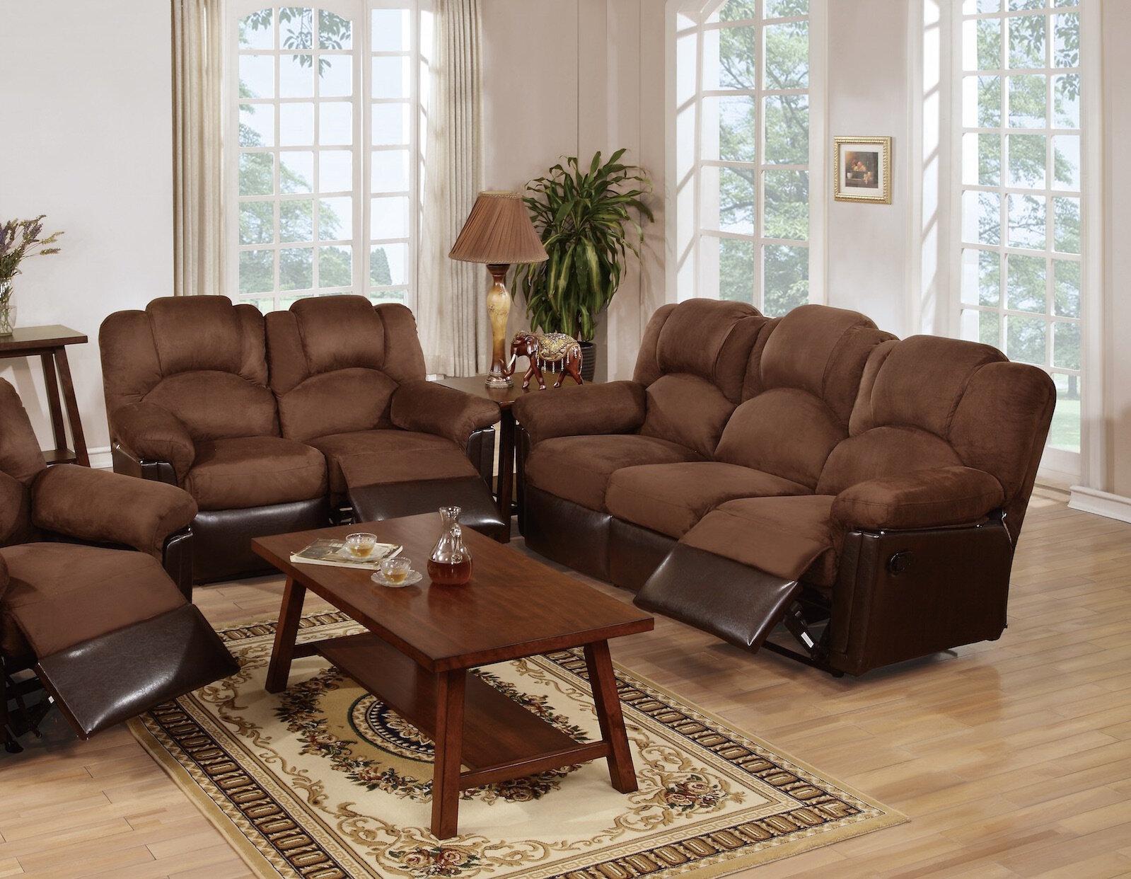 Reclining Living Room Sets | Red Barrel Studio Ingaret Reclining Living Room Set Reviews Wayfair
