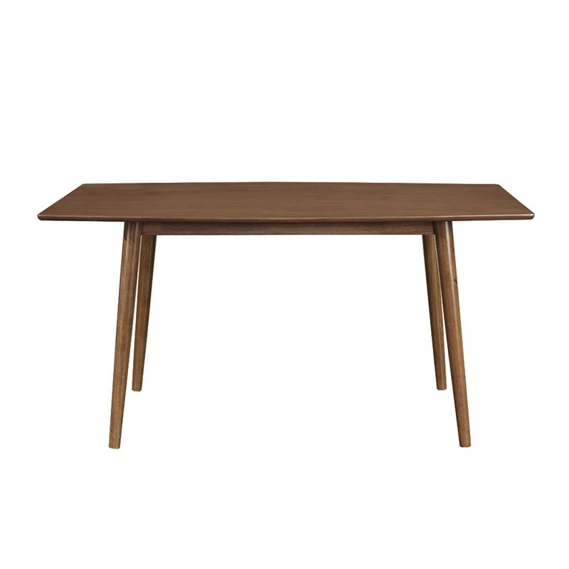 Corrigan Studio Gus Mid-Century Dining Table & Reviews | Wayfair
